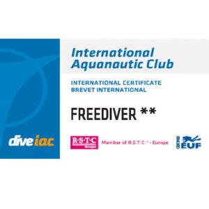 IAC Freediver Level 1 & 2 Kompaktkurs