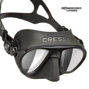Cressi Calibro black HD Mirror